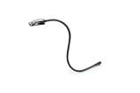 Hosa - Incandescent Console Lamp, 18 inch Flexible Gooseneck