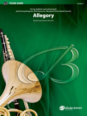 Allegory - Kamuf - Concert Band - Gr. 2