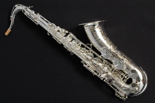 TM Custom Tenor Saxophone - Silver Plated