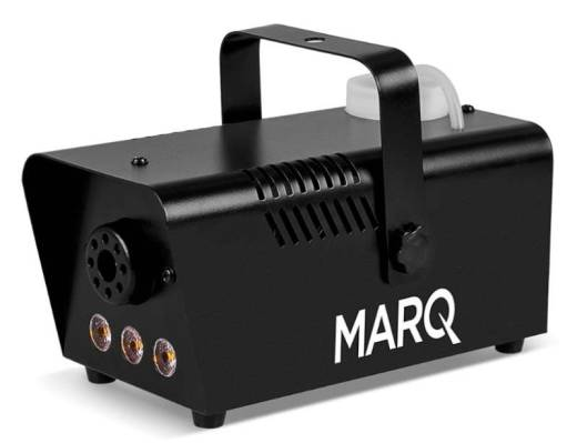 FOG 400 LED Quick-Ready Fog Machine w/ LEDs - Black Casing, Amber LED
