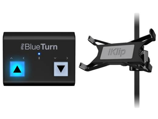 Bluetooth Page Turner + iKlip Xpand Bundle