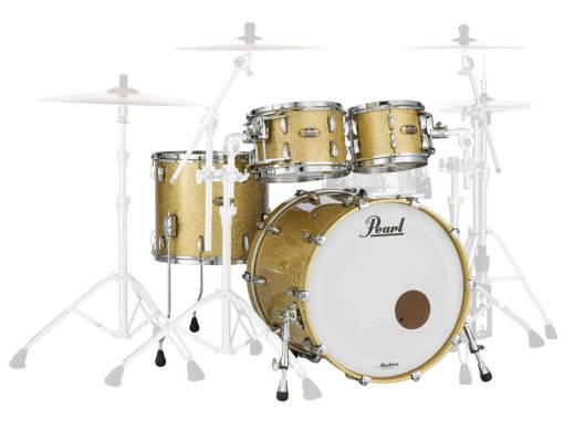 Masters Maple Complete 4pc Shell Pack 22/10/12/16 - Bombay Gold Sparkle