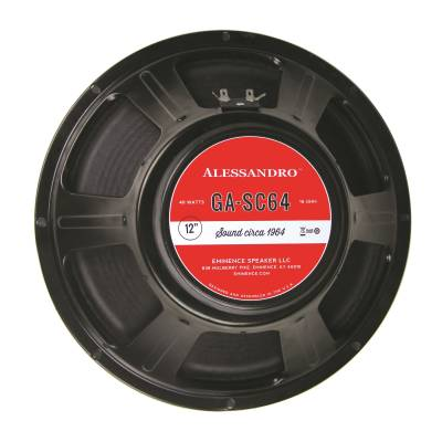 Signature Series George Alessandro 12'' 40W Speaker 16 Ohm