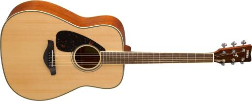 FG820L Spruce Top Left-handed Acoustic Guitar - Natural