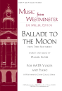 GIA Publications - Ballade to the Moon - Elder - SATB