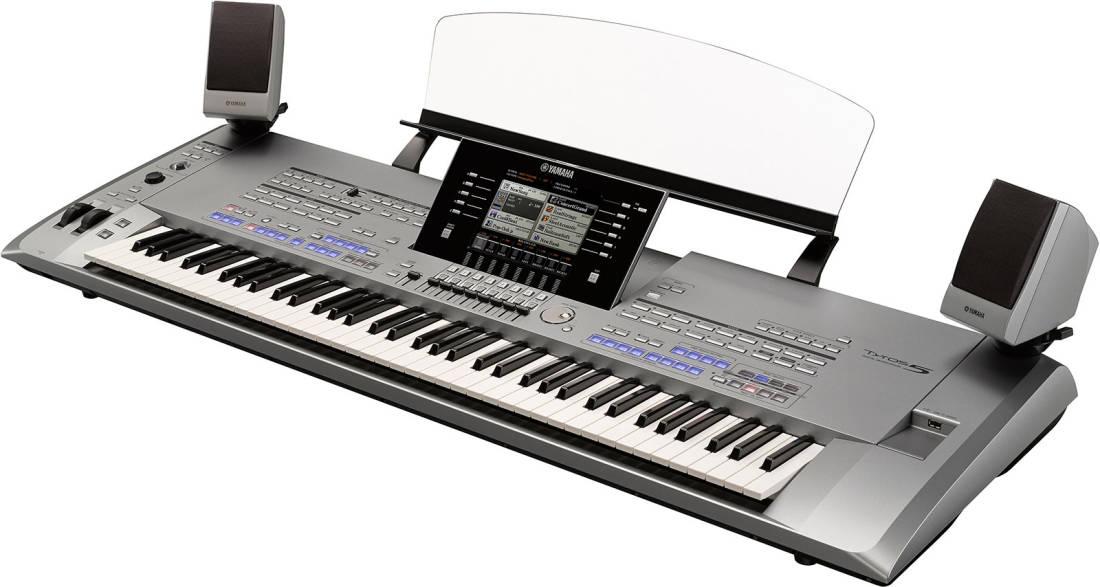 yamaha tyros 5 76 key arranger workstation long. Black Bedroom Furniture Sets. Home Design Ideas