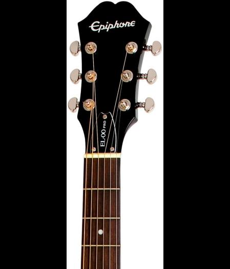epiphone el 00 pro spruce ebony long mcquade musical instruments. Black Bedroom Furniture Sets. Home Design Ideas