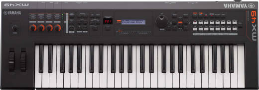MX BK/BU Series 49-Key Synthesizer (128 Polyphony) - Black