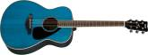 Yamaha - FS820 Small Body Acoustic Guitar w/ Solid Spruce Top - Turquoise