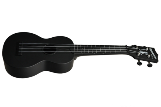 Waterman Composite Soprano Ukulele - Matte Black