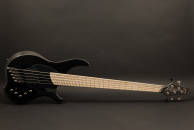 Dingwall Guitars - NG2 Combustion 5-String Bass Guitar w/Maple Fretboard - Metallic Black