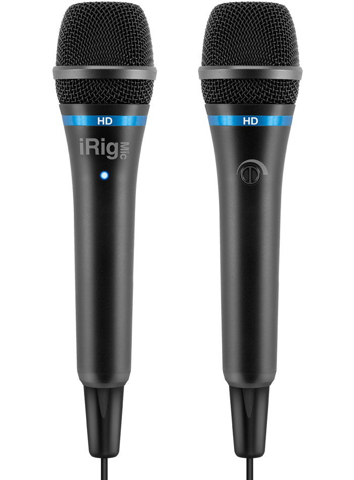 iRig Mic HD Universal Handheld Microphone for iOS/PC/Mac Devices