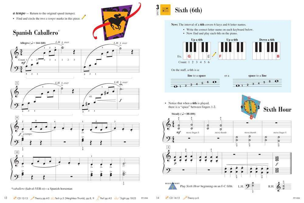 Faber Music Piano Adventures: Level 2B, Lesson Book, 2nd Edition ...