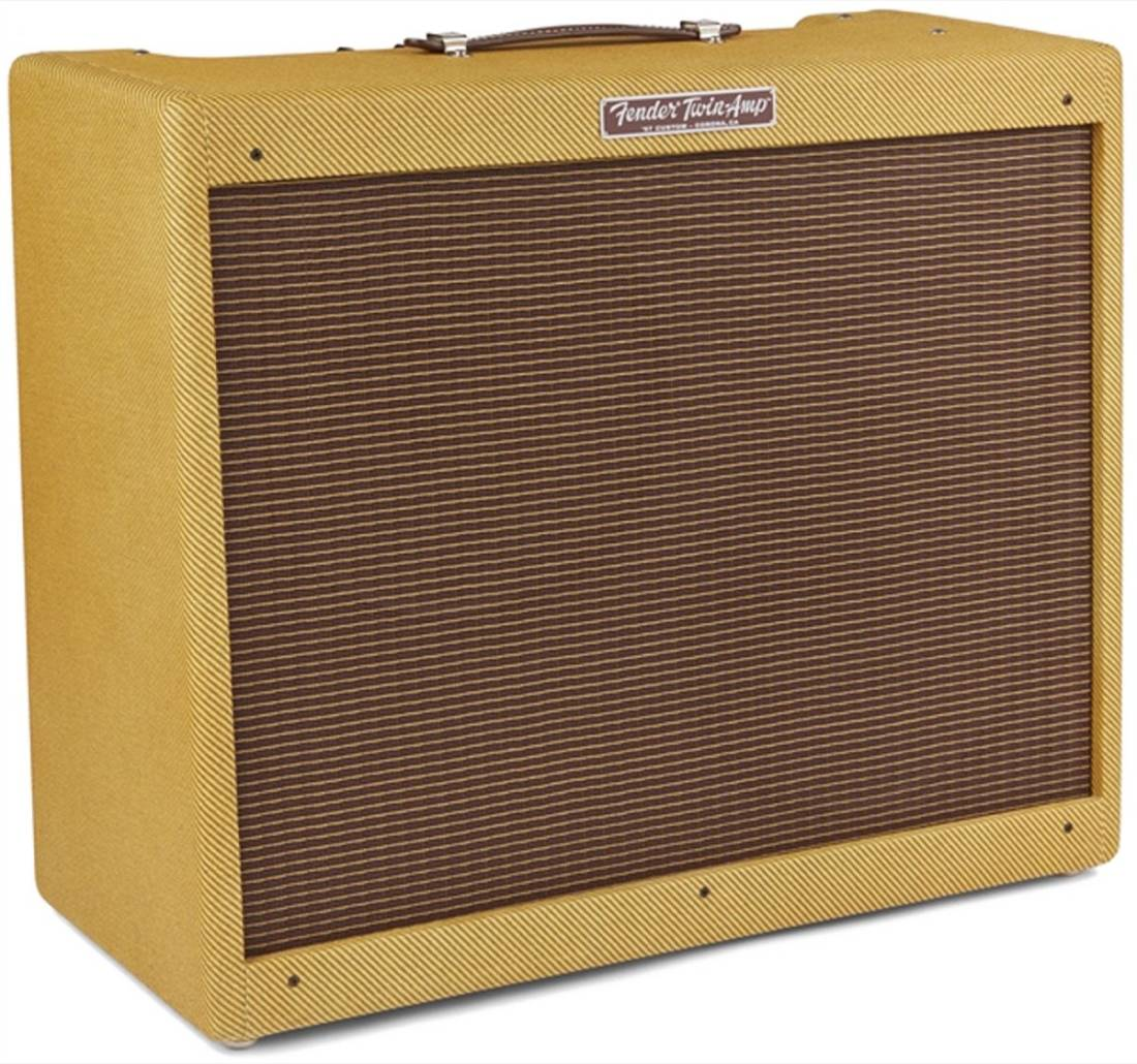 fender 57 custom twin amp guitar combo amplifier 40 watts 2x12 long mcquade musical instruments. Black Bedroom Furniture Sets. Home Design Ideas
