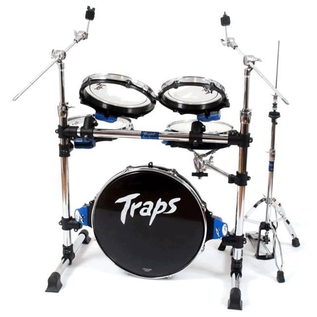 traps drums a400 portable 5 piece drum set long mcquade musical instruments. Black Bedroom Furniture Sets. Home Design Ideas