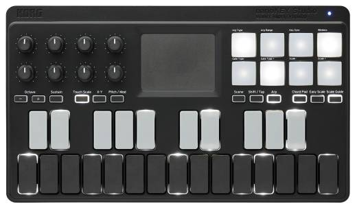 nanoKEY Studio 25-Note Mobile MIDI Keyboard