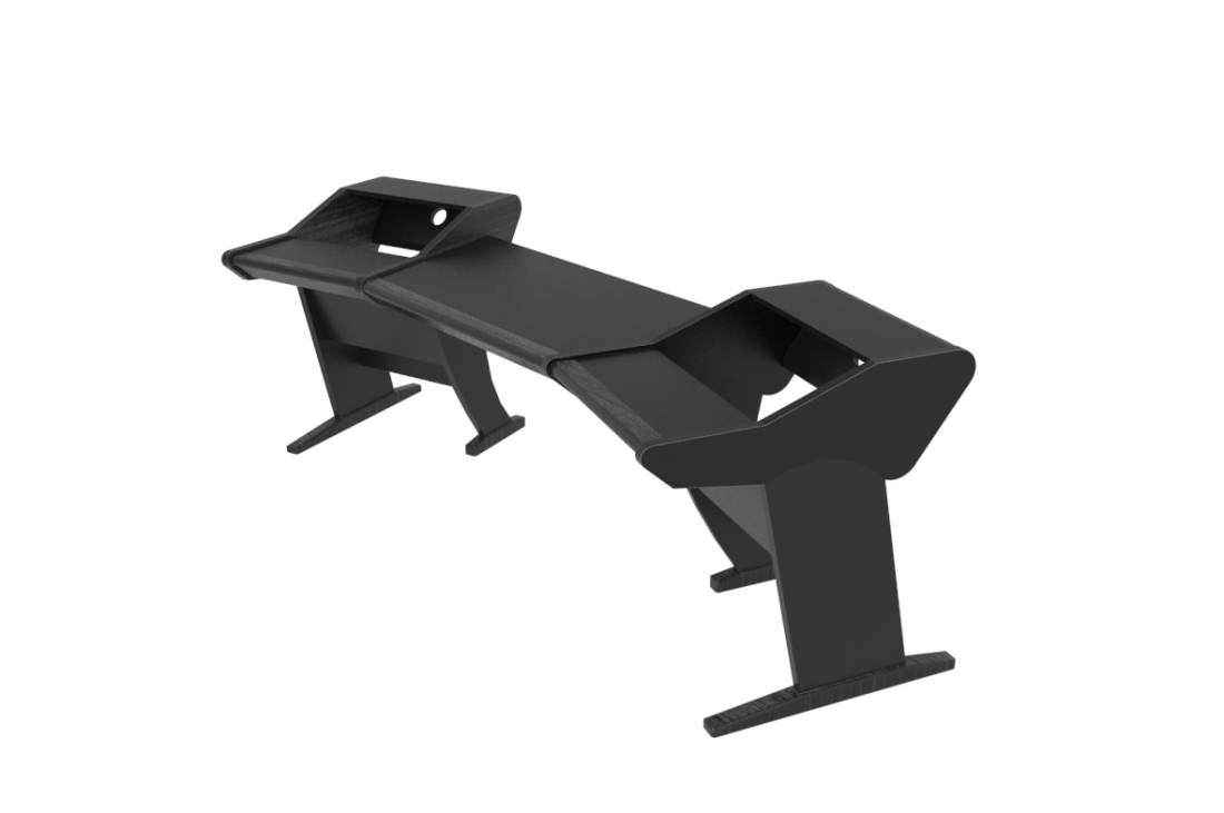 Onda Angled Studio Desk Black