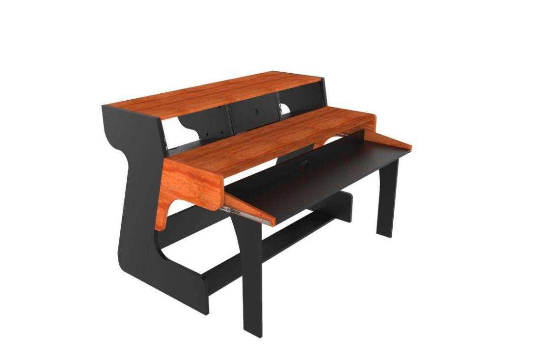 Zaor Miza 88 Studio Desk Black Cherry Long Amp Mcquade
