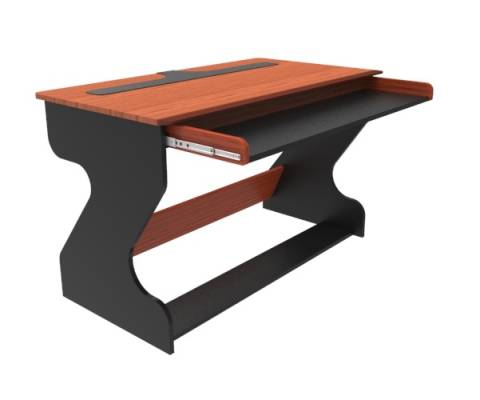Miza Jr Studio Desk (Black Cherry)