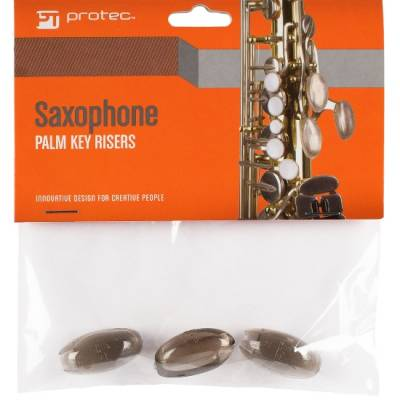 Saxophone Palm Key Risers (Set of 3)