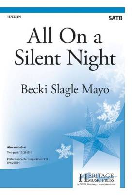 All On a Silent Night - Mayo - SATB