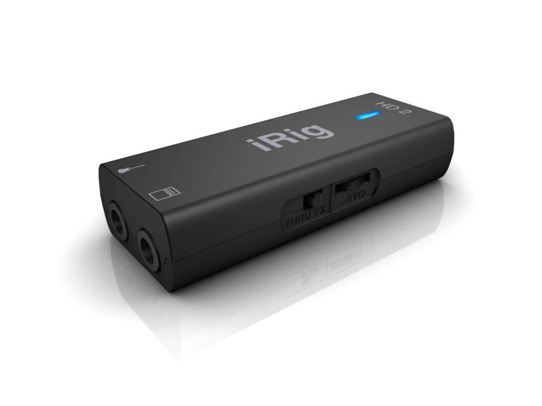 Ipad Iphone Hd: IK Multimedia IRig HD 2 Interface For IPhone / IPad / IPod