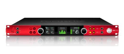 Red 4Pre 24/192 58 In/64 Out Thunderbolt 2 Audio Interface