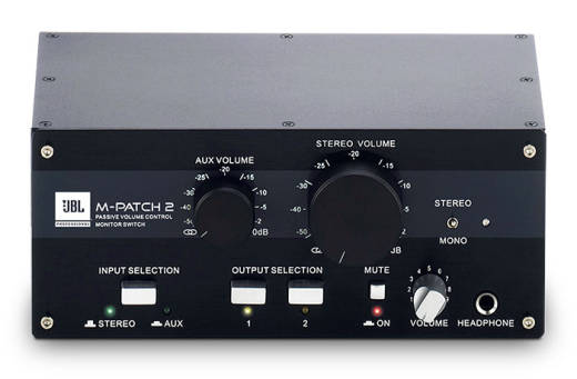 M-Patch 2 Passive Stereo Monitor Controller and Switch Box