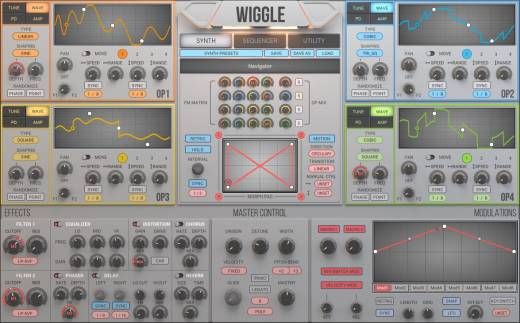 Wiggle Dynamic Waveshaping Synthesizer - Download
