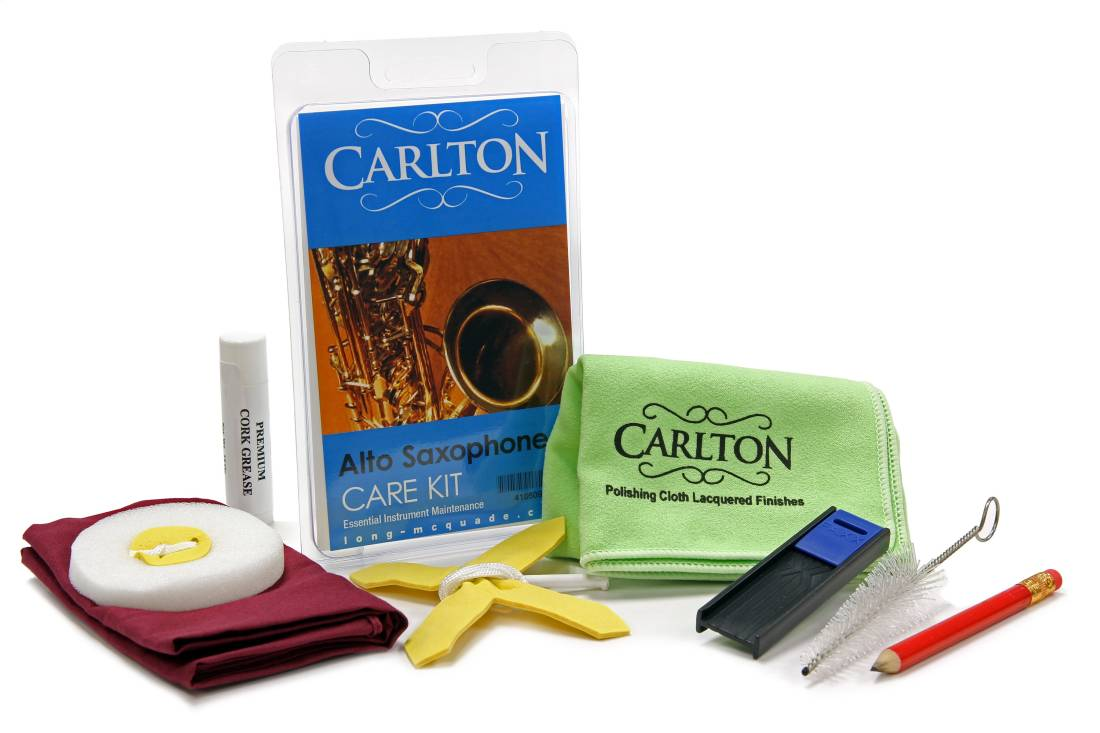 carlton alto saxophone care kit long mcquade musical instruments. Black Bedroom Furniture Sets. Home Design Ideas