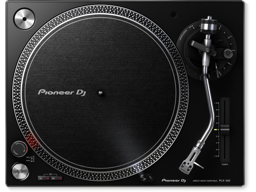 Direct Drive Turntable w/USB - Black