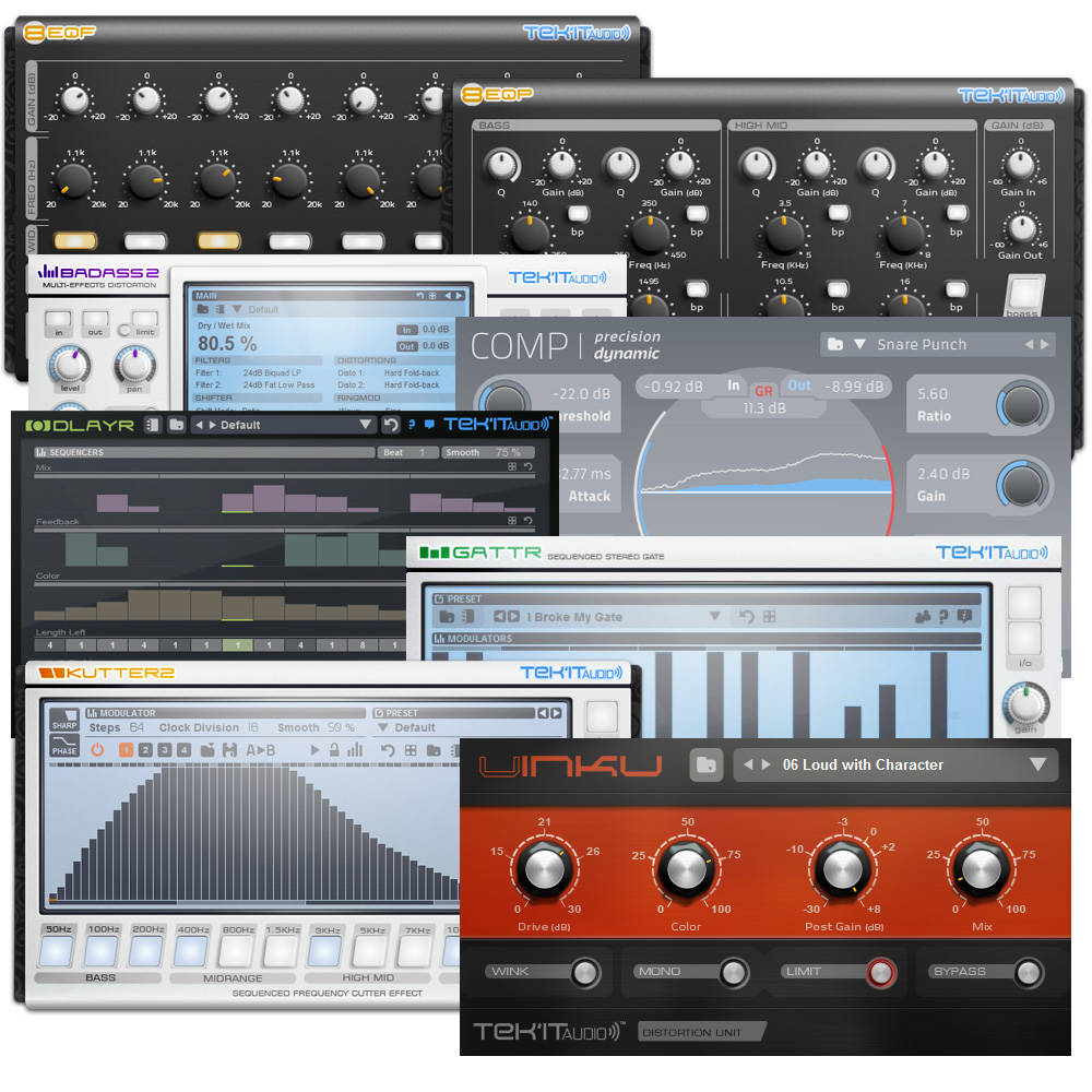 Tek'it Audio - FX Bundle 2 - Download