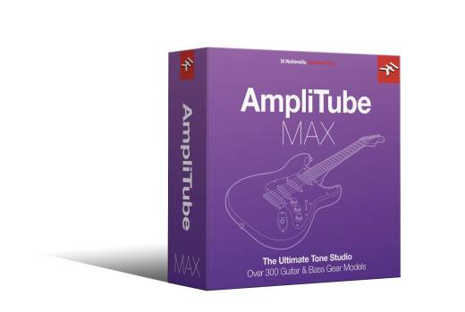 AmpliTube MAX Bundle - Upgrade - Download