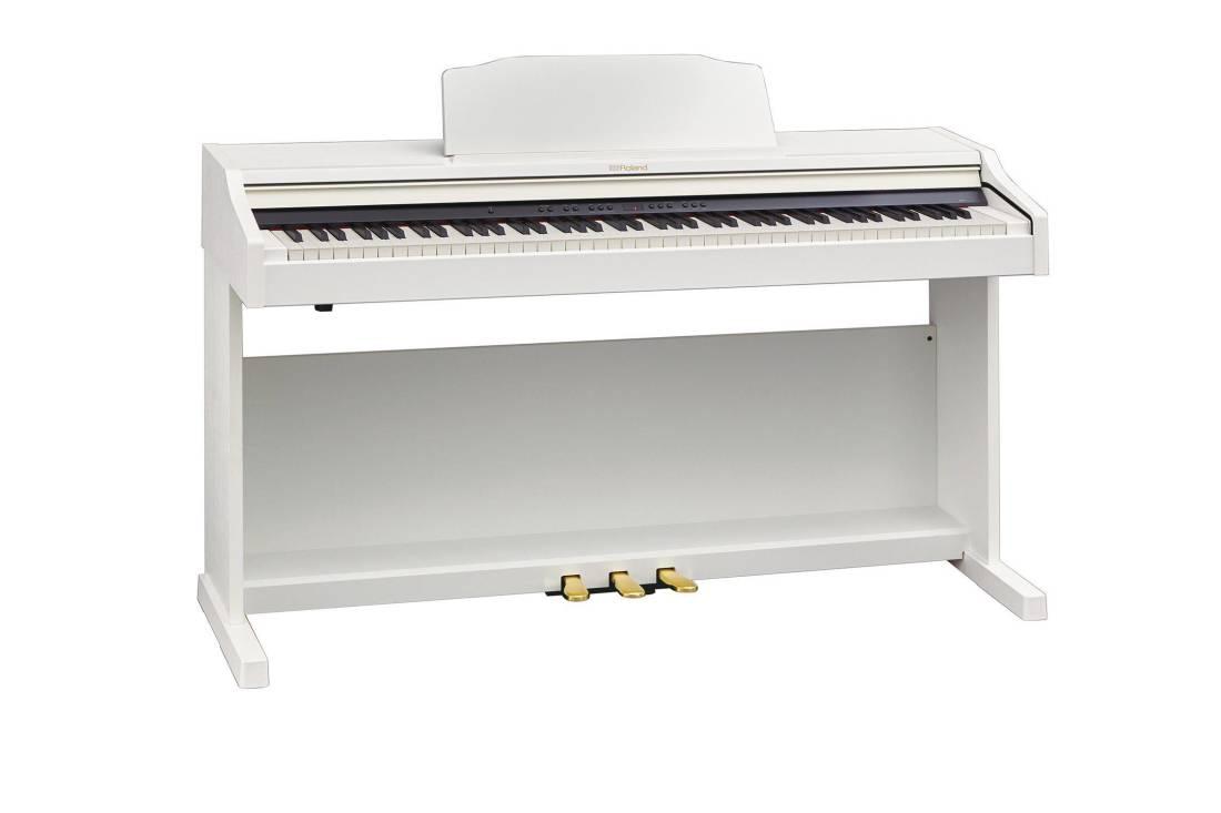Roland Digital Piano White Long Amp Mcquade Musical
