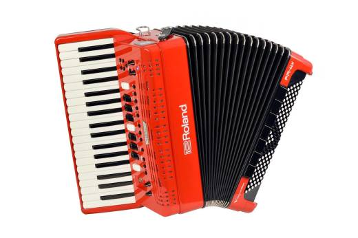 V-Accordion - Red
