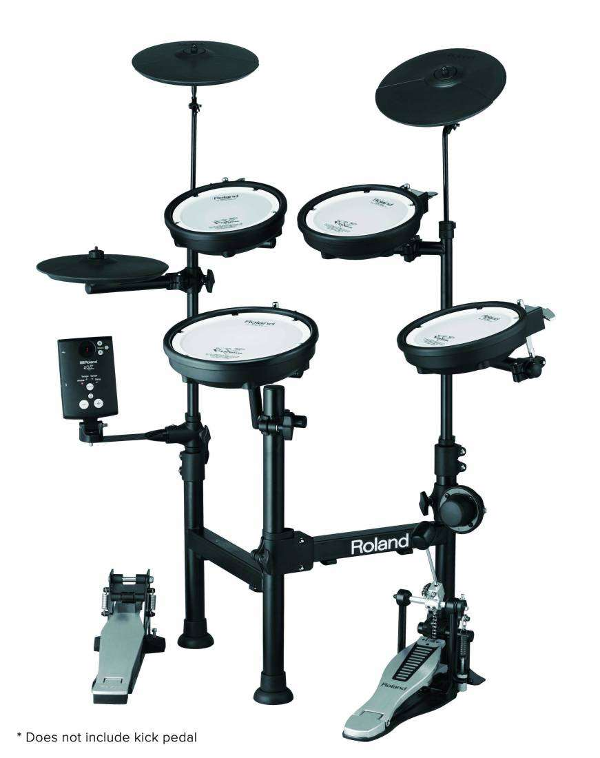 Roland V Drums Portable W Stand Long Amp Mcquade Musical