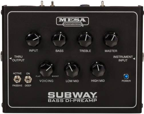 Subway Bass DI Preamp