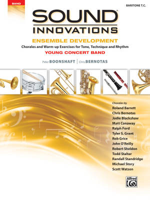 Sound Innovations for Concert Band: Ensemble Development for Young Concert Band - Baritone TC - Book
