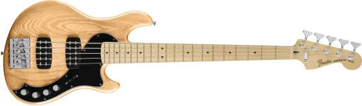 Deluxe Active Dimension Bass V, Maple Neck - Natural