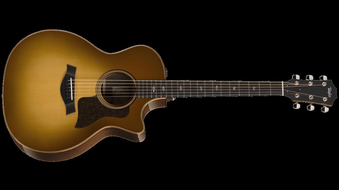 taylor guitars 714ce grand auditorium spruce rosewood acoustic electric guitar w case western. Black Bedroom Furniture Sets. Home Design Ideas