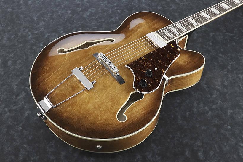 ibanez af71f artcore hollowbody guitar tobacco brown long mcquade musical instruments. Black Bedroom Furniture Sets. Home Design Ideas