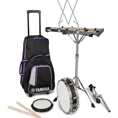 Student Percussion Kit with 2.5 Octave Bells and Snare