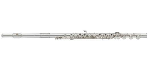 Intermediate Sterling Silver Flute w/ Inline, B Footjoint, Open Hole