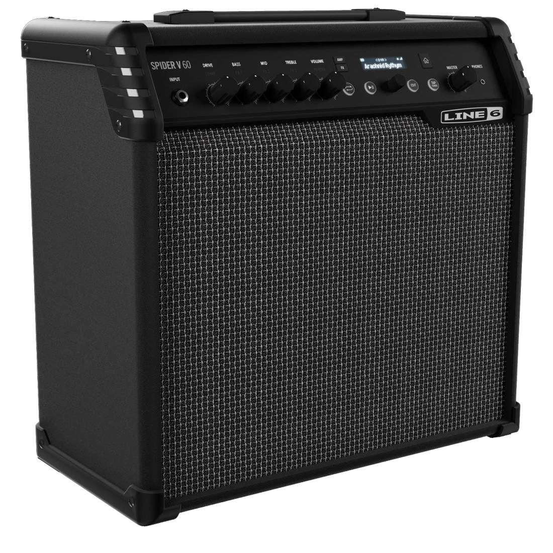 line 6 spider v 60 watt 1x10 39 39 guitar combo long mcquade musical instruments. Black Bedroom Furniture Sets. Home Design Ideas