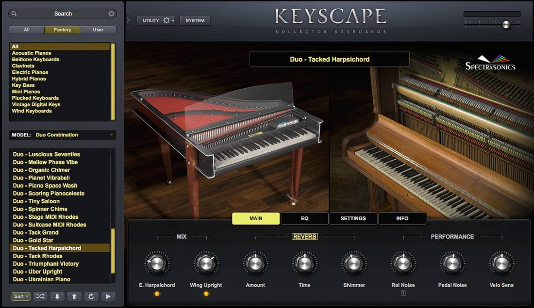 Spectrasonics Keyscape Collector Keyboards Virtual Instrument