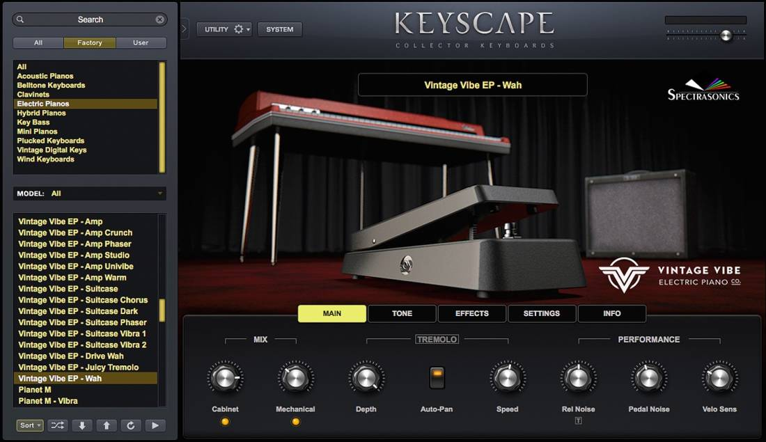 Spectrasonics Keyscape Collector Keyboards Virtual Instrument