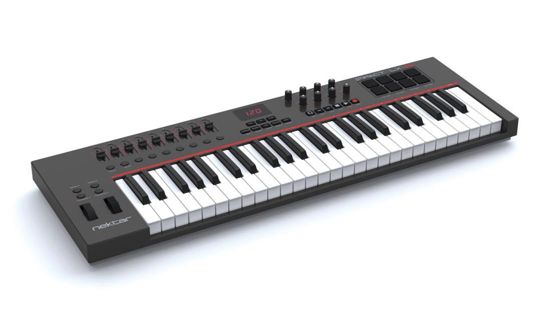 nektar impact lx49 usb midi controller long mcquade musical instruments. Black Bedroom Furniture Sets. Home Design Ideas