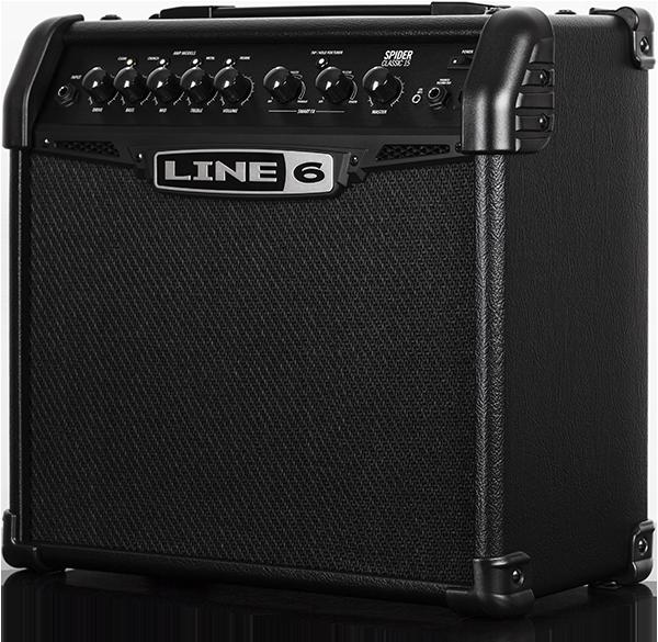 line 6 spider 15 classic 15w 1x8 guitar amp long mcquade musical instruments. Black Bedroom Furniture Sets. Home Design Ideas