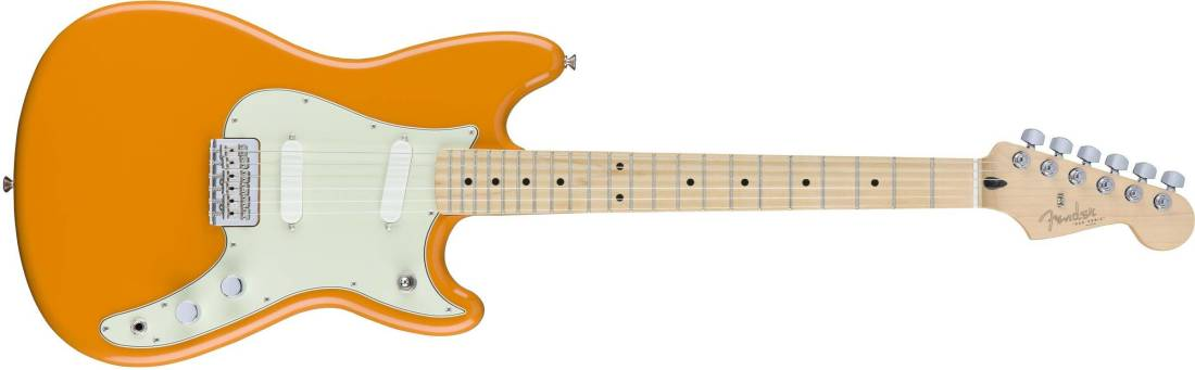 Fender Duo Sonic W Maple Fingerboard Capri Orange Long