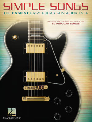 Simple Songs: The Easiest Easy Guitar Songbook Ever - Guitar TAB - Book